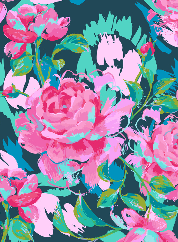 Persian Rose Jungle